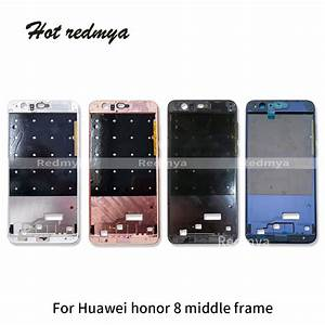 1pcs Middle Frame For Huawei Honor 8 Housing Middle Frame
