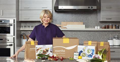 kitchen queen martha stewart joins crowded meal kit craze