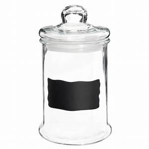 Cloche En Verre Maison Du Monde : bonbonni re en verre h 25 cm ardoise maisons du monde ~ Melissatoandfro.com Idées de Décoration