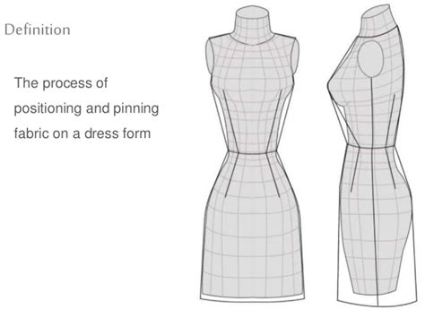 drape definition fashion draping