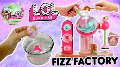 lol surprise dolls bath bomb maker  charm toy