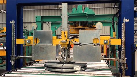 automatic strapping machine steel coil youtube