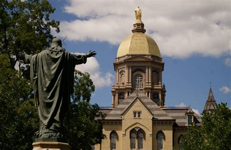 notre dame  top ranked catholic college wsj
