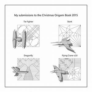 free coloring pages diagrams to be published in christmas With origami diagrams