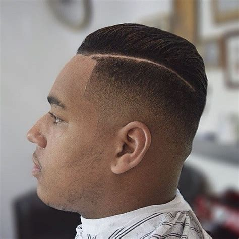 latest side parted mens hairstyles