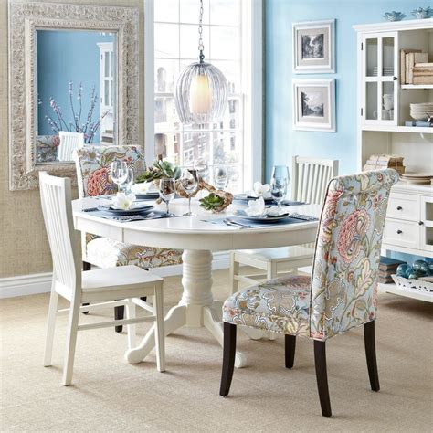 Pier 1 Dining Table Chairs by Blue Floral Dining Chair Chairs Pier 1 Imports And
