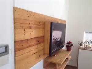 wandgestaltung selbst gemacht altholz bretter balken gehackt bs holzdesign