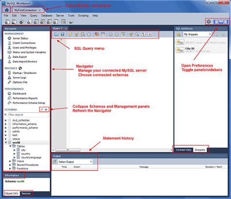 MySQL :: MySQL Workbench Manual :: 8.1 Visual SQL Editor