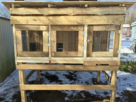 Plans For Rabbit Hutch - rabbit hutch made from pallets rabbit hutch made from