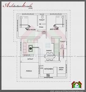 Architecture Kerala 1000 Sqft Single Storied House Plan