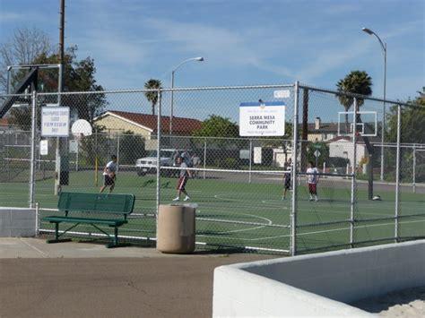 serra mesa playin basketball at serra mesa community