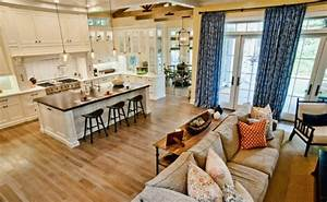 17 Open Concept Kitchen-Living Room Design Ideas Style