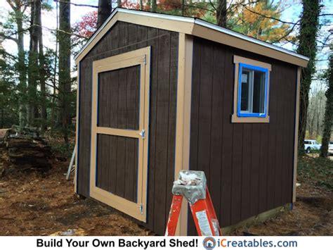 backyard shed plans icreatablescom