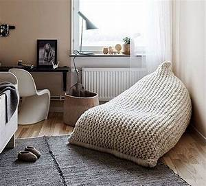 Chunky Knit Decke : chunky merino wool grey knit adult bean bag gray bean bag chair nursery chair chunky wool ~ Whattoseeinmadrid.com Haus und Dekorationen