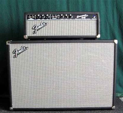 Fender Bassman Cabinet 4x12 by Bass And Guitar S