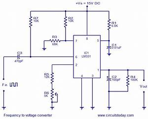 U0026gt Frequency To Voltage Converter Using Lm331