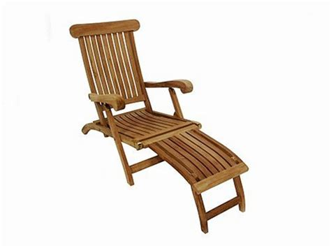 teak furniture gallery tgl198 steamer lounge chair patio