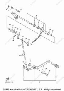 Yamaha Motorcycle 2007 Oem Parts Diagram For Shift Shaft