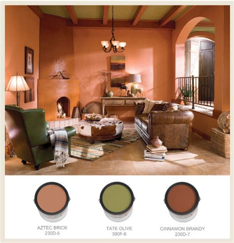 colorfully behr western style decor