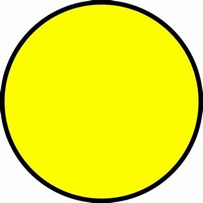 Circle Yellow Clker Clip Clipart Vector Logos