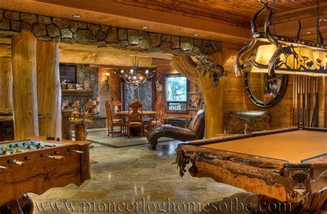 Pioneer Log Homes Kosten gallery bars and rooms pioneer log homes midwest