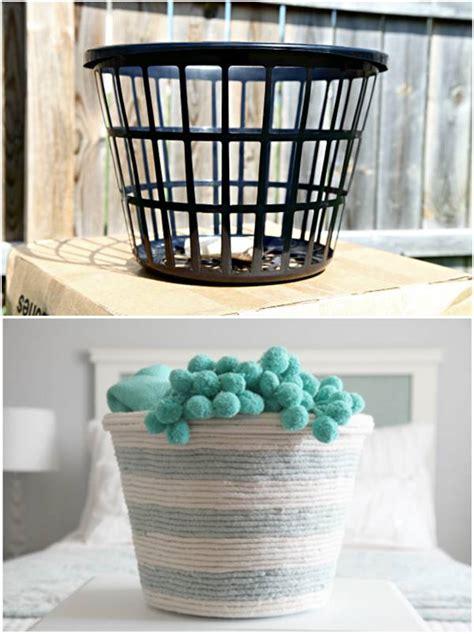 creative ideas diy rope basket   dollar store
