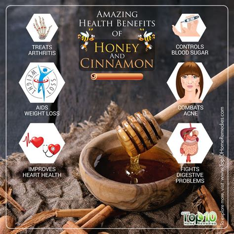 health benefits  honey  cinnamon work