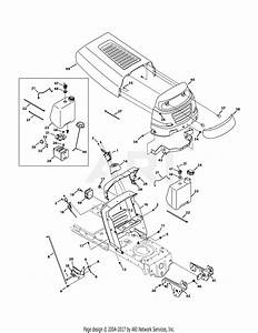 Mtd 13wv771s031  2011  Parts Diagram For Hood Style 1