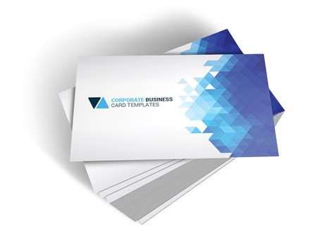 Corporate Shape Business Card Business Card Templates Latex Size Self Adhesive Laminating Pouches Adobe Photoshop Template Paint.net In Psd Format Cello Bags Visiting On Phone