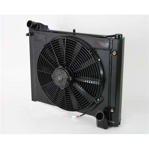 radiator and fan combo dewitts 4239061a 1961 62 corvette radiator fan combo