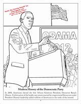 Coloring Democratic Books Activity Democrat History Coloringbook sketch template