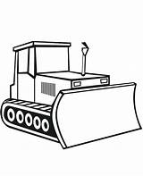 Bulldozer Coloring Digger Construction Pages Drawing Craft Simple Template Moving Sketch Parts Truck Tractor Vehicles Clipartmag Sketchite Sheet Templates Excavator sketch template
