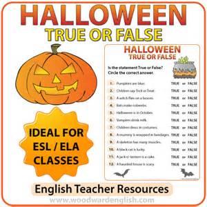 Halloween Brain Teasers Pdf halloween true or false quiz woodward english