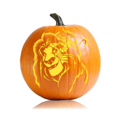 Mufasa Lion King Pumpkin Pattern Ultimate Pumpkin Stencils