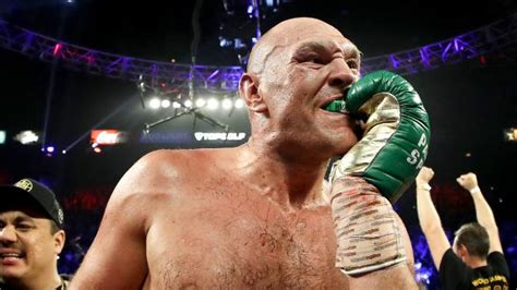 Fury's hidden mouthguard taunt revealed | Sportstons