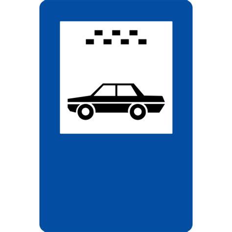 Ceļa zīme - Nr. 543* Vieglo taksometru stāvvieta - Sia Signum