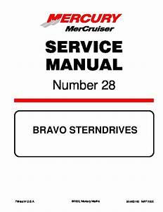 Bravo 3 Outdrive Parts Diagram