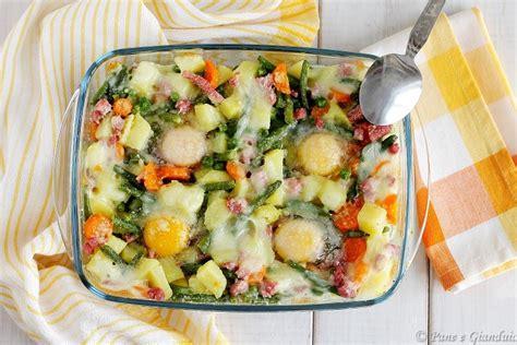 uova in carrozza uova in carrozza uova con verdure pane e gianduia