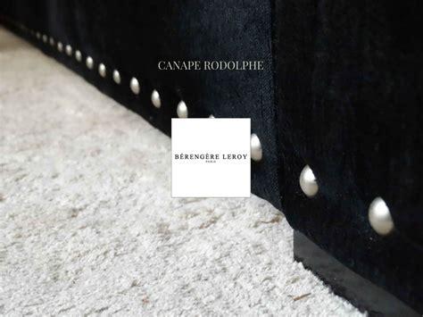 canap sur mesure en ligne canape en velours noir cloute rodolphe collections