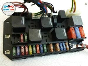 range rover rear load electrical relay fuse box