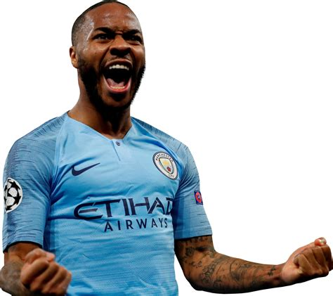 Raheem shaquille sterling (born 8 december 1994) is an english professional footballer who plays as a winger and attacking midfielder for premier league club manchester city and the england national. Raheem Sterling football render - 51606 - FootyRenders