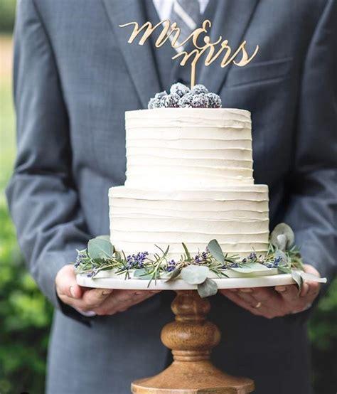 Rustic Wedding Cake Two Tiered Wedding Cake Wedding