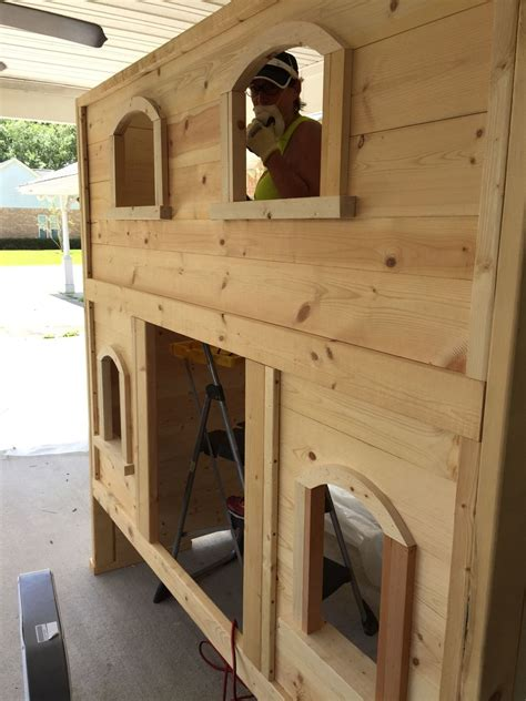 ana white sweet pea bunk bed  viktoria diy projects