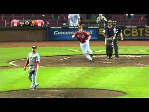 Joey Votto Slams 3 HRs to Give Reds the Win - Sports Clips ...