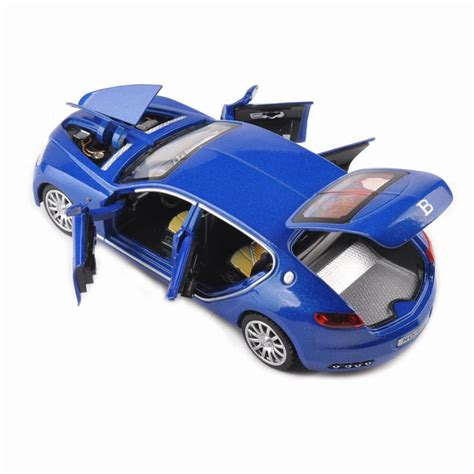 Although the type 32 was not initially a success, it did pave the way for the increasing significance of aerodynamics for race cars. Collectible Alloy Diecast White Car Model 1/32 Bugatti ...