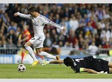Real Madrid 21 Juventus Ronaldo brace tumbled 'La