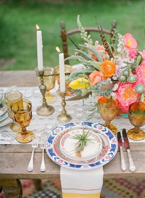 boho chic table ls 59 best boho chic wedding table images on pinterest
