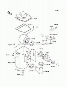 Kawasaki Mule 550 Parts Diagram