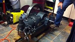 1912 1hp National Type F Hot Tube Gas Engine - First Run In 50  Years For This Engine
