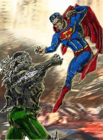 Doomsday Superman Wallpapers Background Colour Comic Wallpapersafari